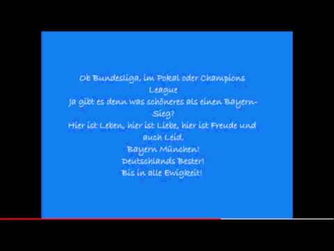Fc Bayern – Stern des Süden (with Lyrics)
