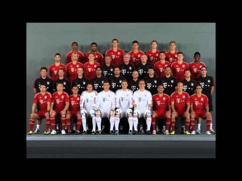 Fc Bayern München 2012 (Remix mit Lyrics)