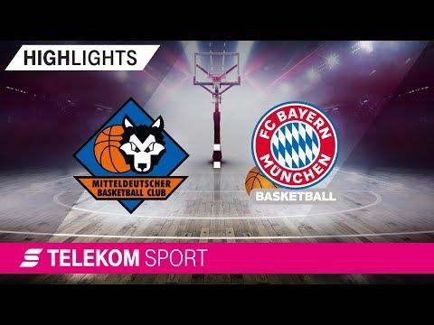 Mitteldeutscher BC – FC Bayern Basketball | 6. Spieltag, 18/19 | Telekom Sport