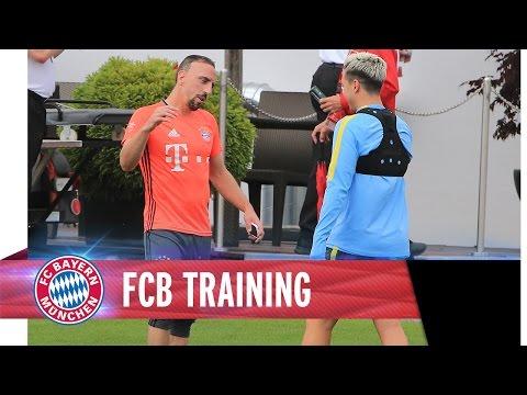 FC Bayern vs. Manchester City – Das zweite Treffen | Highlights Training