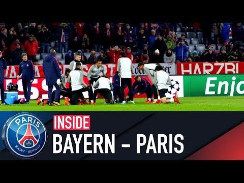 INSIDE – BAYERN MUNICH VS PARIS SAINT-GERMAIN