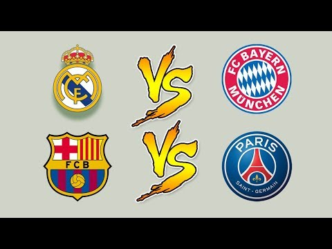 Real Madrid Vs Bayern Munich UEFA Champions League Livestream – Barcelona Vs PSG