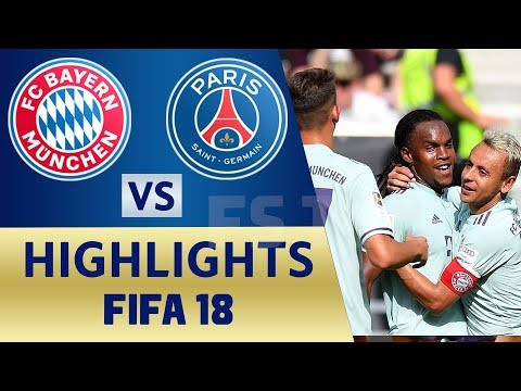Bayern Munich vs Paris SG | FIFA 18 Prediction | International Champions Cup | 21/07/2018