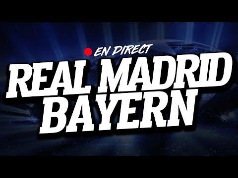 🔴 DIRECT / LIVE : REAL MADRID – BAYERN MUNICH // Club House ( REAL – MUNCHEN )