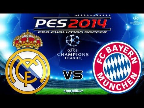 PES 2014 UEFA Champions League FC Real Madrid vs FC Bayern München Full HD