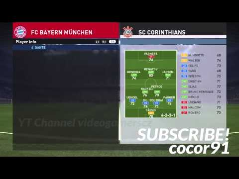 PES 2016 – All Bayern Munchen Players Stats (DEMO)