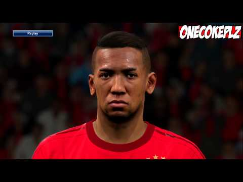 PES 2016 – ALL FC BAYERN MUNCHEN FACES! (PS4)