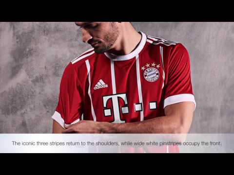The New Adidas 2017/18 Bayern Munich Home Kit