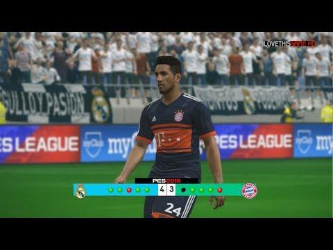 Real Madrid vs Bayern Munchen – Penalty Shootout [New Kits 2017/18]