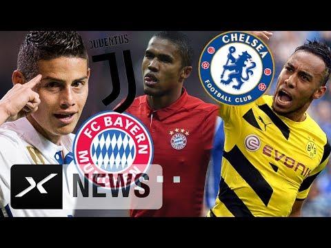Bayern-Beben mit James und Douglas Costa – Aubameyang zu Chelsea? | Transfer-News | Bundesliga