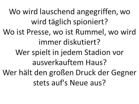 FC Bayern Song-lyrics
