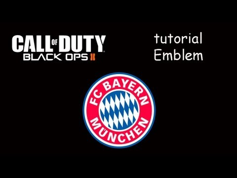 Emblem FC Bayern München | Black Ops 2 | By SergioLiveHD