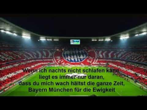 """""""Wenn ich nachts nicht schlafen kann"""" (FC Bayern Fangesänge 2018)"""