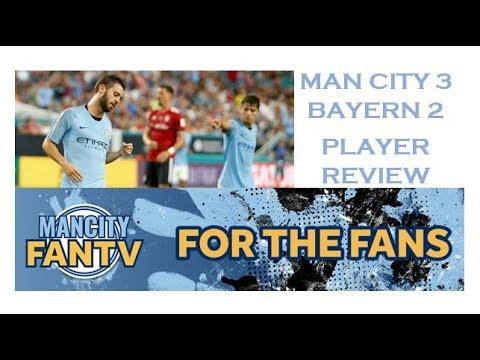 MAN CITY 3 v BAYERN 2 – PLAYER REVIEW