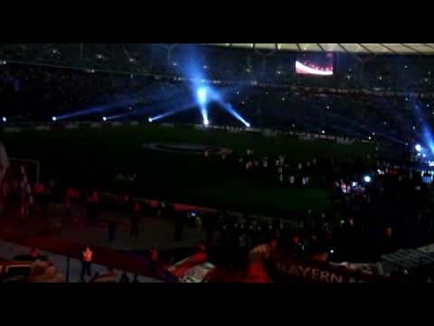 FC Bayern Stern des Südens! Pokalfinale 2010 Berlin