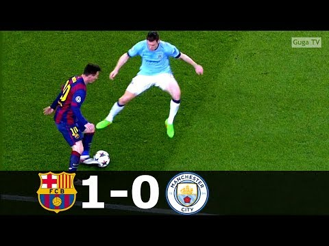 Barcelona vs Manchester City 1-0 – UCL 2014/2015 – Highlights (English Commentary) HD