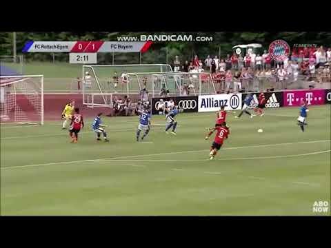 Le Bayern  qui gagne 20-2 contre le fc Rottach!