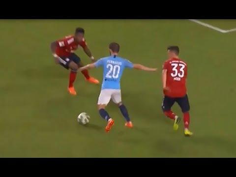 2 goles de Bernardo Silva para dar vuelta el 0-2. Bayern Munich v Manchester City 2-3. ICC.