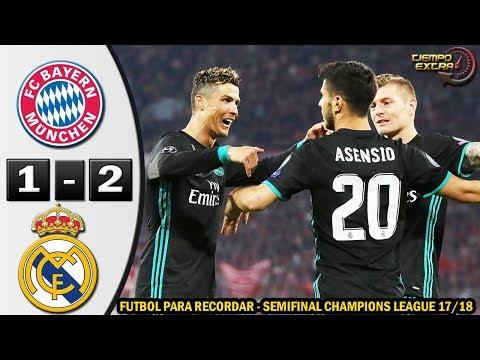 Bayern Munich vs Real Madrid 1-2 Resumen Highlights Semifinal UCL 17/18