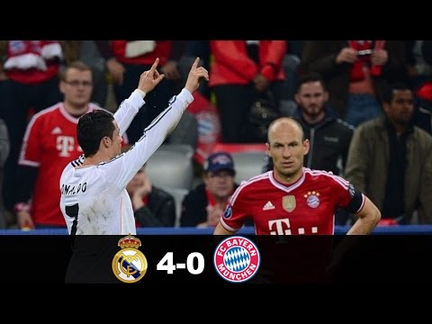Real Madrid vs Bayern Munich 4-0 – All Goals & Extended Highlights – Champions League 29/04/2014 HD