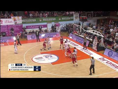 10. Spieltag: s.Oliver Baskets Würzburg vs FC Bayern Basketball 86:95