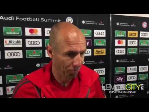 Arjen Robben | FC Bayern vs Manchester City FC | July 27, 2018