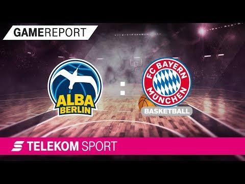 ALBA Berlin – FC Bayern München | Finale 4. Spieltag 17/18 | Telekom Sport