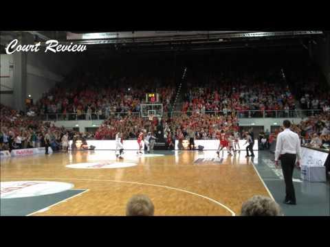 Brose Baskets: Letzte Szene des Spiels gegen den FC Bayern