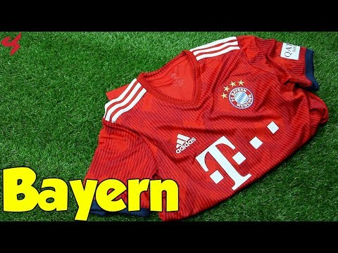 Adidas FC Bayern Munich 2018/19 Home Jersey Unboxing + Review from Subside Sports