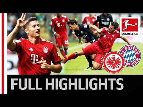 Eintracht Frankfurt vs FC Bayern München   0:5   Highlights   Supercup 2018