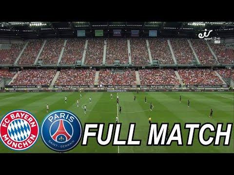 International Champions Cup 2018 – Bayern Munich vs PSG – Full Match HD