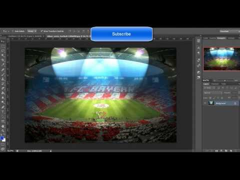 Speed Art/Wallpaper FC Bayern Munchen