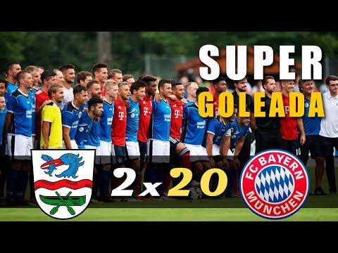 Bayern Munique 20 x 2 Rottach Egern – Gols e Melhores Momentos (AMISTOSO)