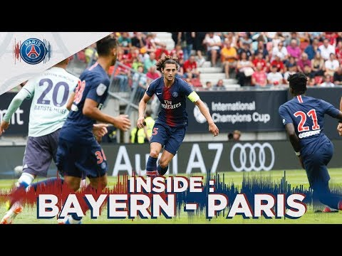 INSIDE – BAYERN MUNICH vs PARIS SAINT-GERMAIN