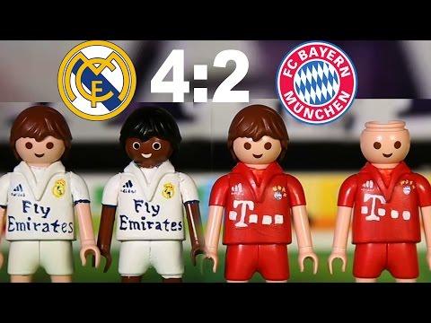 ⚽ REAL MADRID – BAYERN MÜNCHEN 4:2 PLAYMOBIL Fussball Championsleague Highlights Stop Motion deutsch