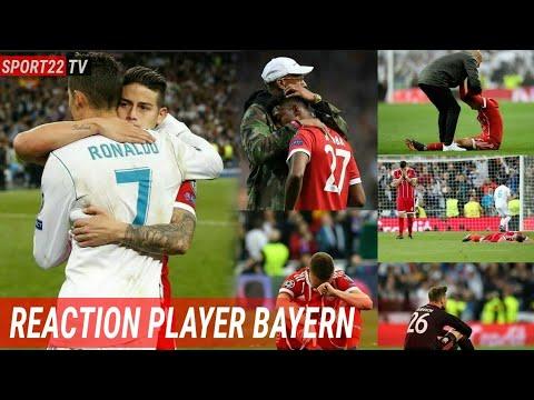 Reaksi Pemain Bayern Munchen setelah kalah dari real madrid