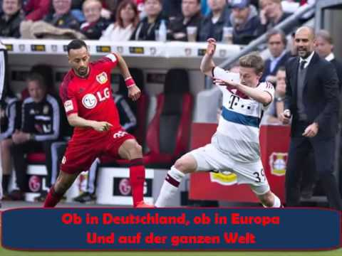 FC Bayern Fur immer FCB (with lyrics and players of saison 2014-15)