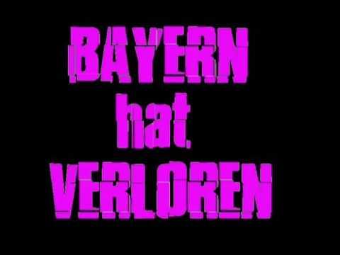 "Anti Bayern Song mit Text ""Bayern hat verloren"""
