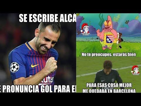 MEMES BARCELONA VS SPORTING 2-0 BAYERN MUNICH VS PSG 3-1 ATLÉTICO DE MADRID ELIMINADO CHAMPIONS