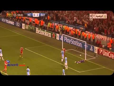 Bayern München vs Manchester City 3 1 Goals Du Match, Post résumé Highlights   Champions 2 10 2013