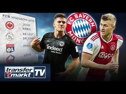 Teure Wunschspieler: Sorgt Bayern im Sommer für Ausgaberekord? |  TRANSFERMARKT