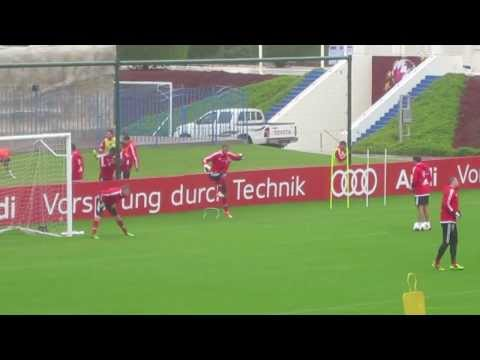 FC Bayern Munich Training Camp Goalkeeper