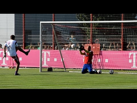 FC Bayern Munich goalkeeper training – Part 1