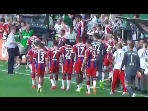 2014 MLS All-Stars v. FC Bayern Munich – Players Enter for Pre-Game Warm-Ups