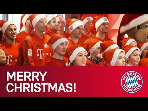 Merry Christmas! Bayern Stars surprise KidsClub! 🎅🎄