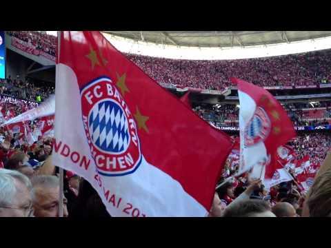 Stern des Südens CL 2013 Dortmund vs. Bayern im Wembley London