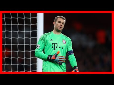 Bayern munich goalkeeper manuel neuer injures foot again