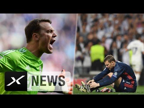 Fußbruch! Manuel Neuer droht das Saisonaus | Real Madrid – FC Bayern München 4:2