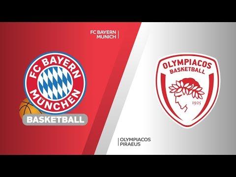 FC Bayern Munich – Olympiacos Piraeus Highlights | Turkish Airlines EuroLeague RS Round 8