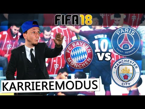 FIFA 18: SAISON VORBEREITUNG FC Bayern vs Paris & Man City | Karrieremodus